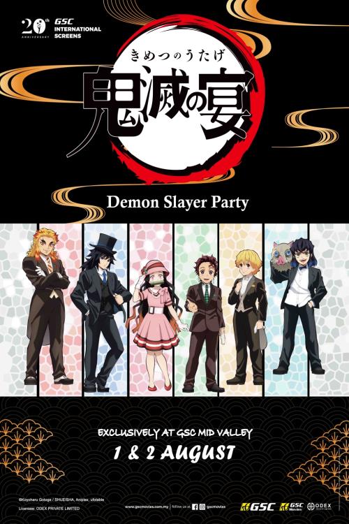 DEMON SLAYER PARTY
